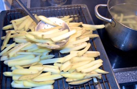 fries boil